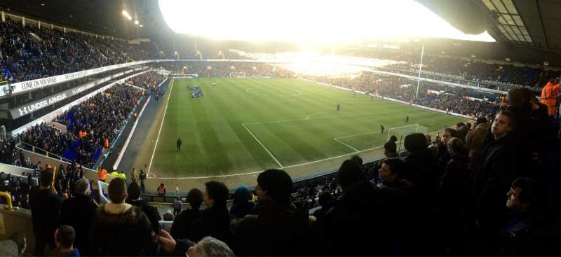Seating view for White Hart Lane Section 45 Row 5 Seat 187