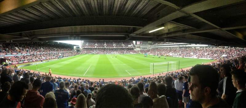 Seating view for Boleyn Ground Section STBL3 Row BB Seat 69