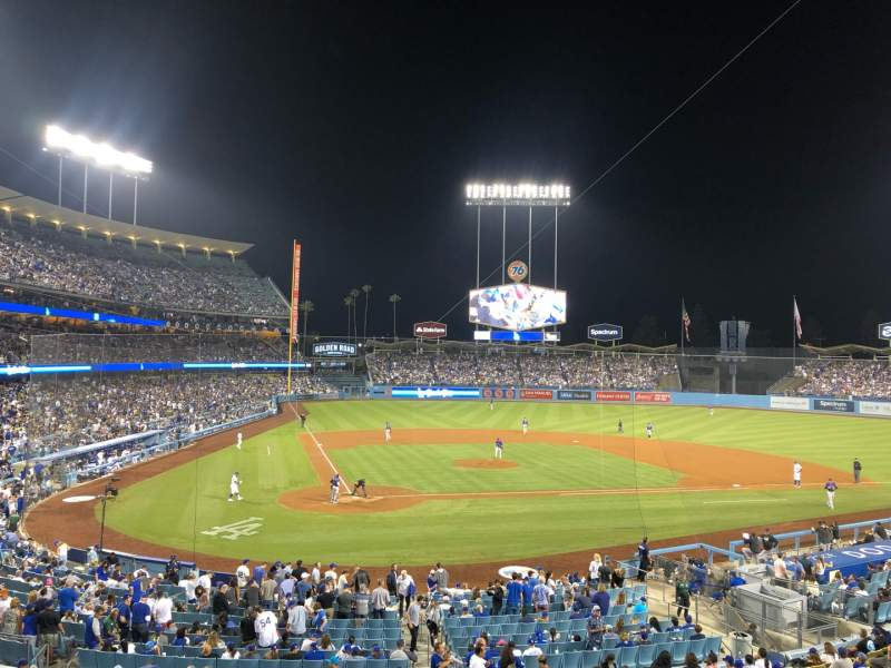 Seating view for Dodger Stadium Section 116LG Row D Seat 5