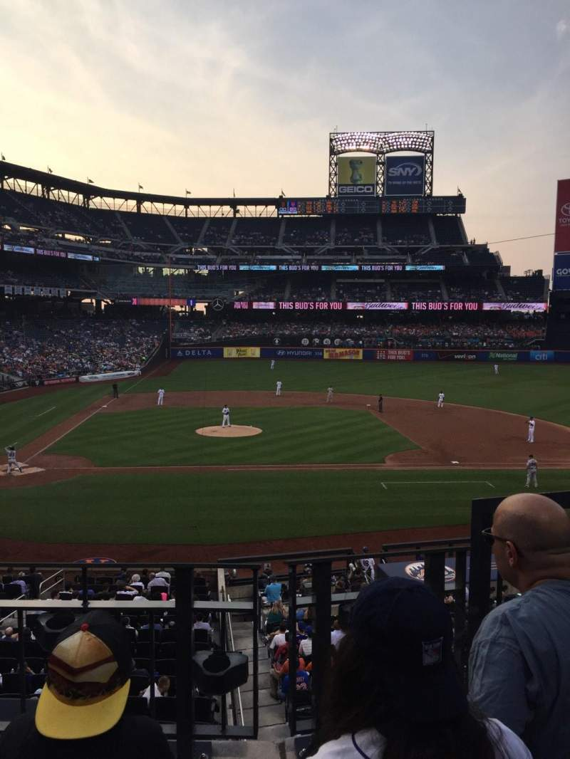 Seating view for Citi Field Section 115 Row 3 Seat 10