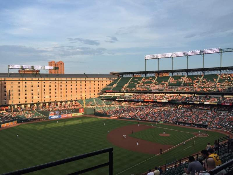 Seating view for Oriole Park at Camden Yards Section 370 Row 24 Seat 2
