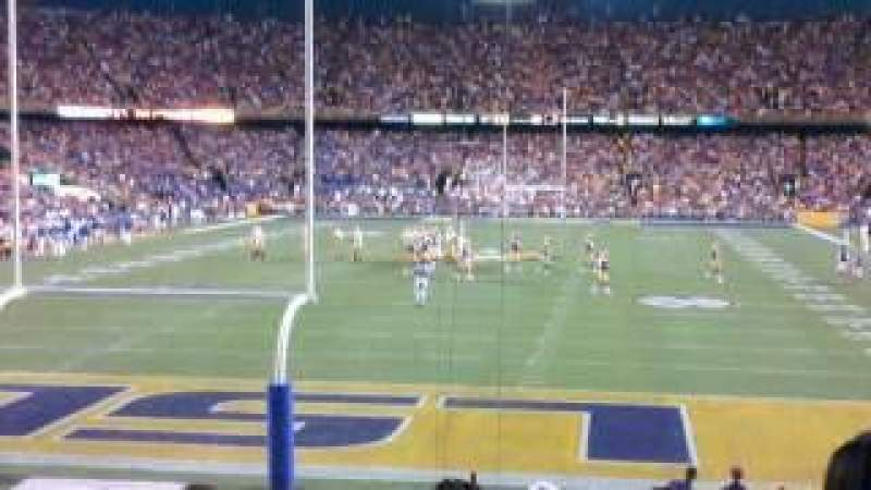 Seating view for Tiger Stadium Section 216