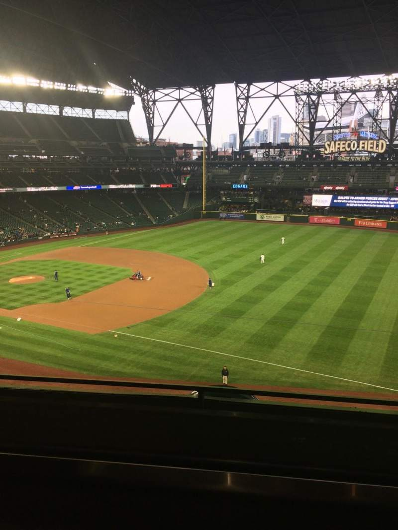 Seating view for T-Mobile Park Section 11 Row 2 Seat 4