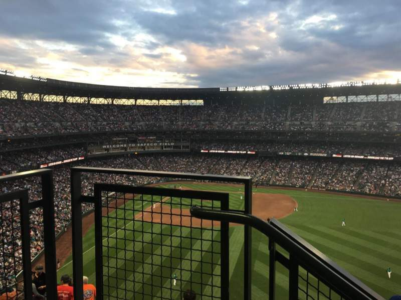 Seating view for T-Mobile Park Section 307 Row 9 Seat 12