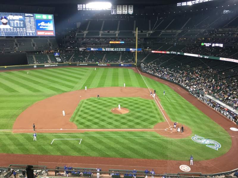 Seating view for T-Mobile Park Section 337 Row 2 Seat 1