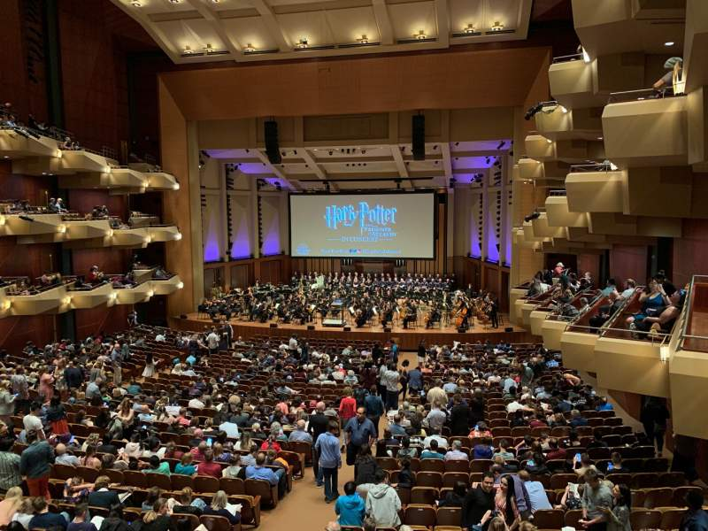 Seating view for Benaroya Hall Section Right A Row A  Seat 1