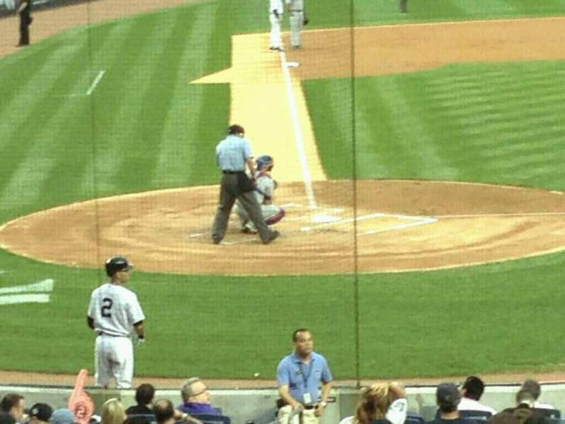 Seating view for Yankee Stadium Section 117b Row 25 Seat 10