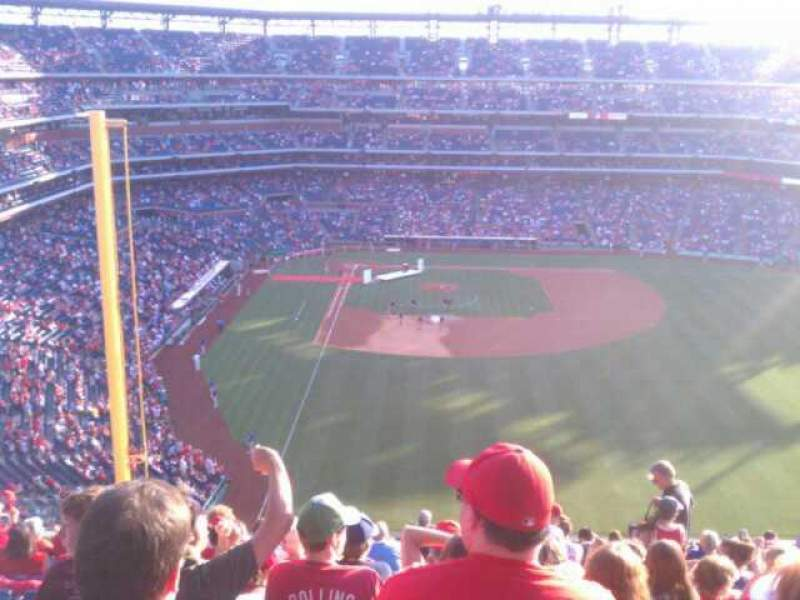 Seating view for Citizens Bank Park Section 304 Row 15