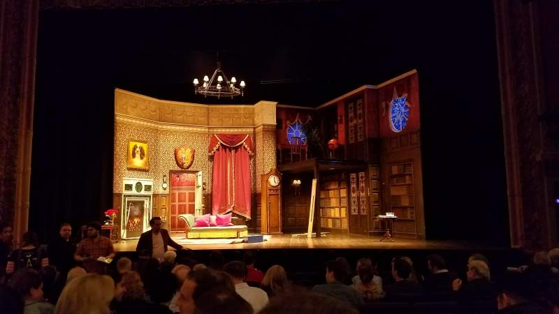 Seating view for Lyceum Theatre (Broadway) Section Orchestra C Row K Seat 106