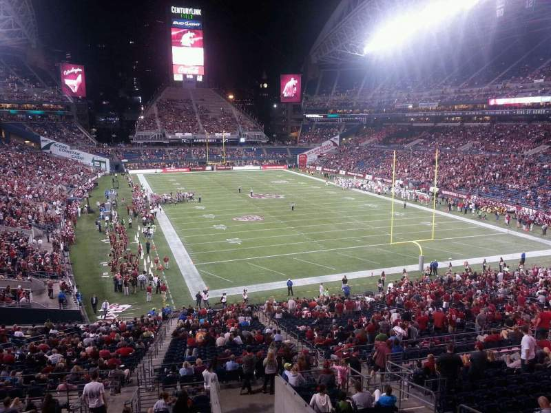 Seating view for Lumen Field Section 125 Row MM Seat 12