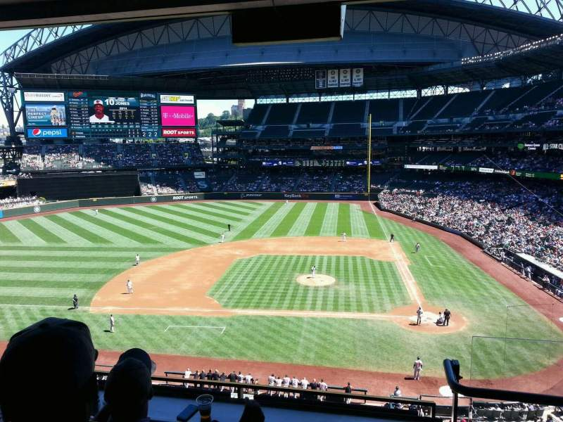 Seating view for Safeco Field Section Suite Row 45