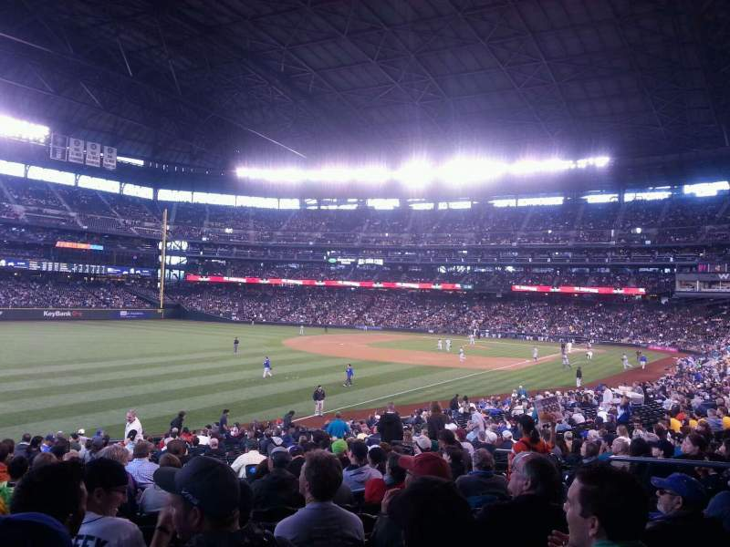 Seating view for T-Mobile Park Section 144