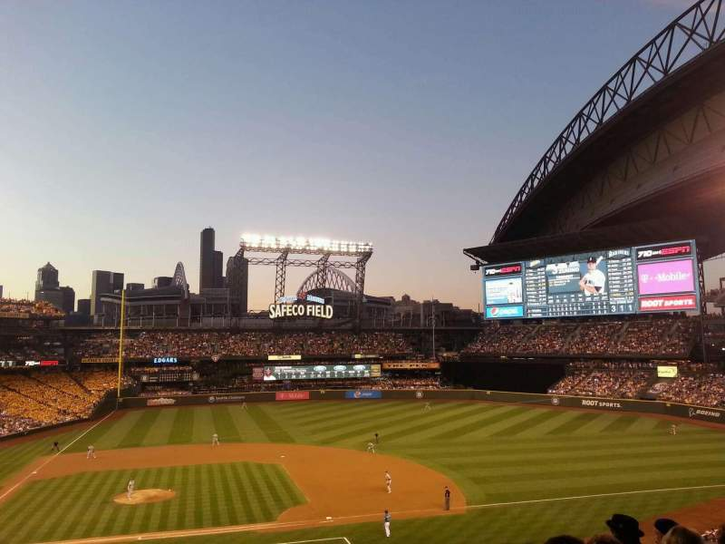 Seating view for Safeco Field Section 223