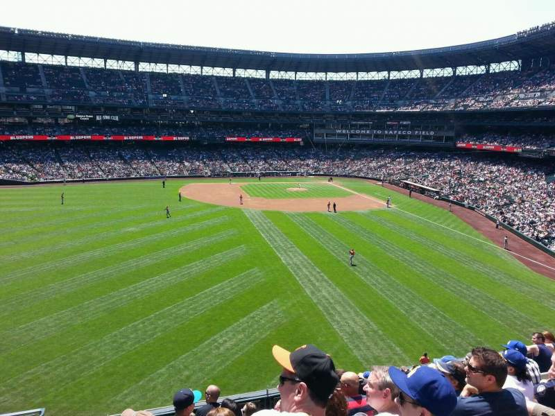 Seating view for Safeco Field Section 183