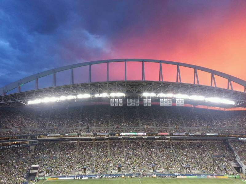 Seating view for CenturyLink Field Section 307