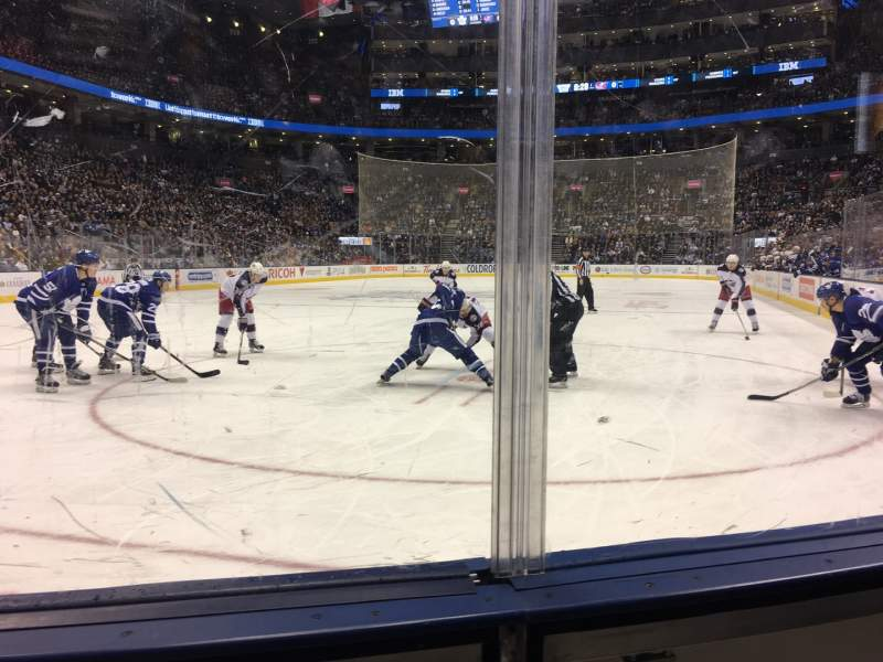 Seating view for Scotiabank Arena Section 101 Row 5 Seat 11