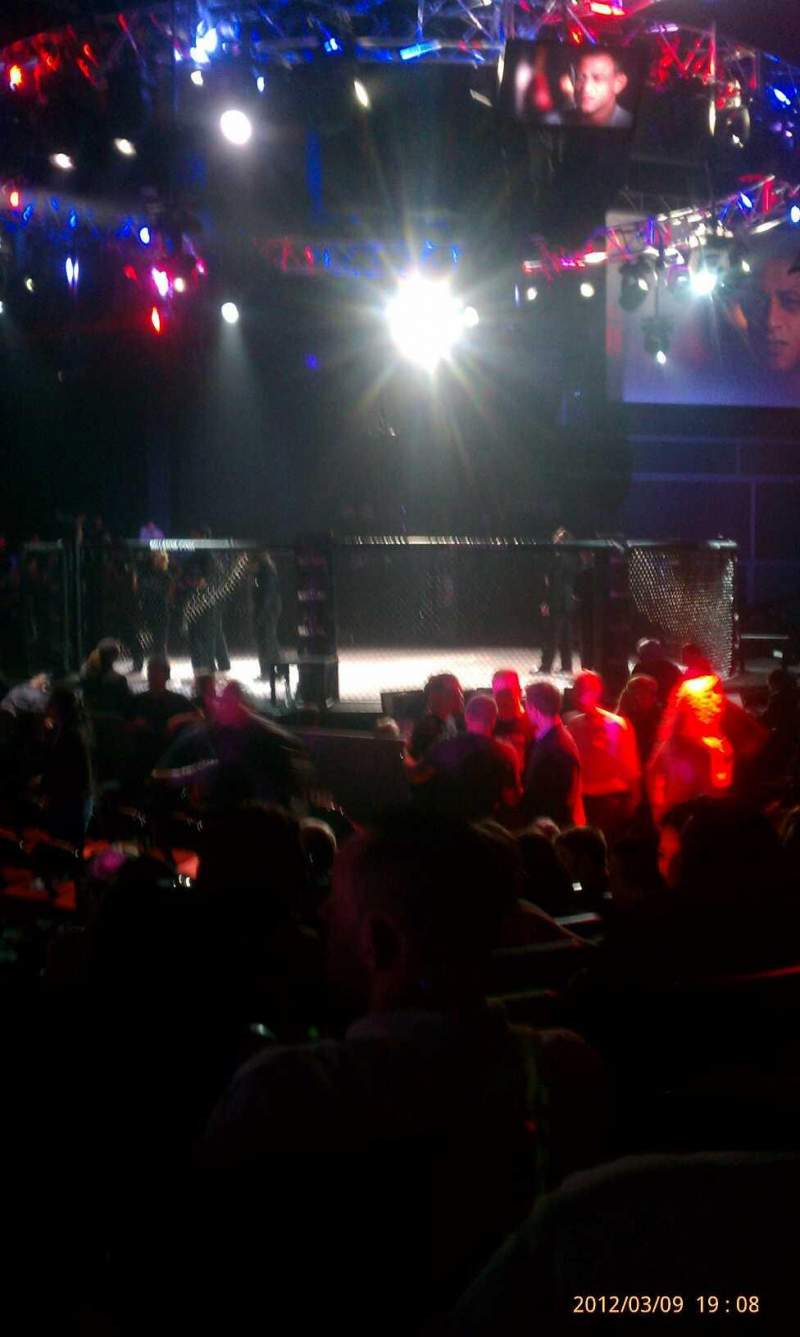 Seating view for The Venue at Horseshoe Casino (Hammond) Section 205 Row H Seat 15