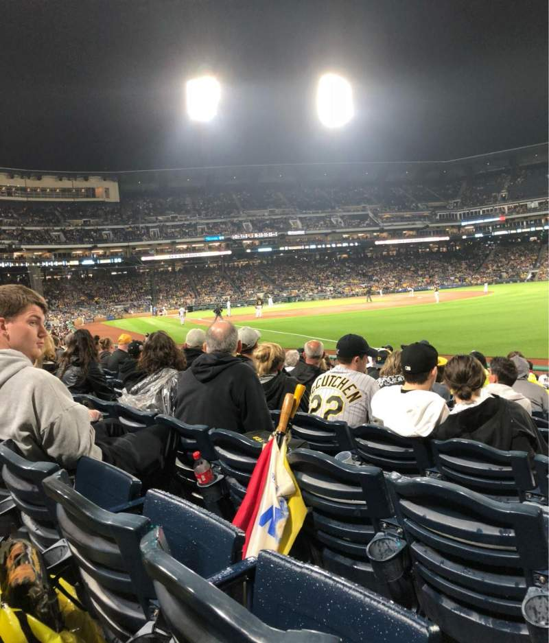 PNC Park, section: 1, row: M