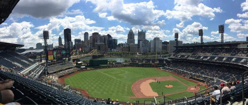 Seating view for PNC Park Section 322 Row R