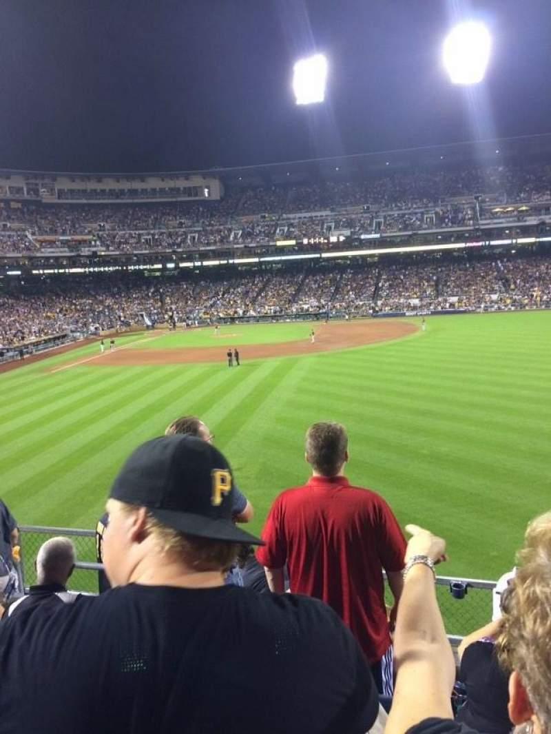 PNC Park, section: 144, row: G