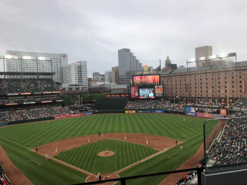 Oriole Park At Camden Yards Section 336 Home Of Baltimore