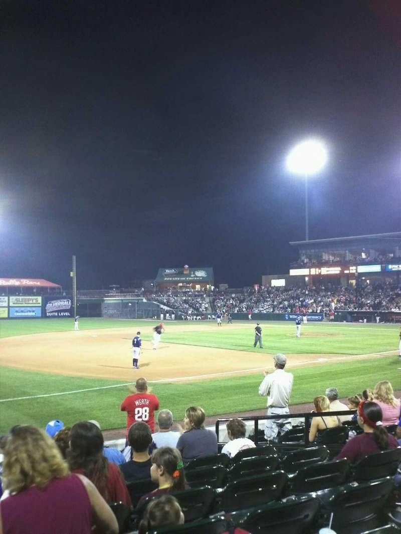 Seating view for Clipper Magazine Stadium Section 25 Row J  Seat 7