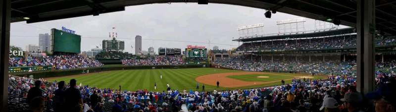 Seating view for Wrigley Field Section 208 Row 10 Seat 9