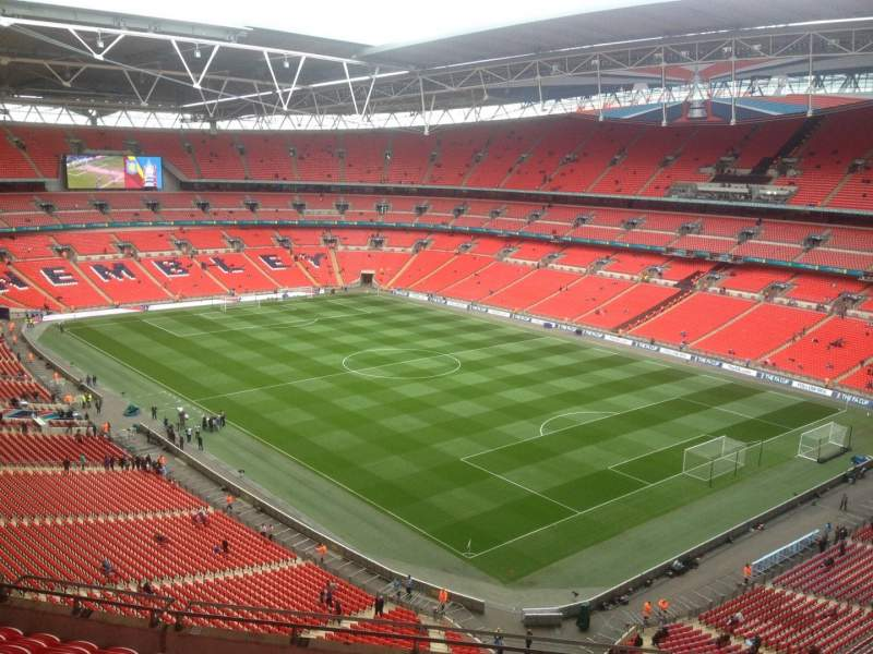 Seating view for Wembley Stadium Section 545 Row 11 Seat 173