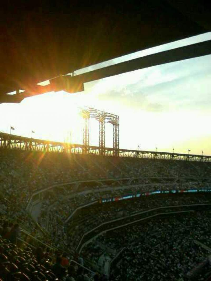 Seating view for Citi Field Section 507 Row ? Seat green