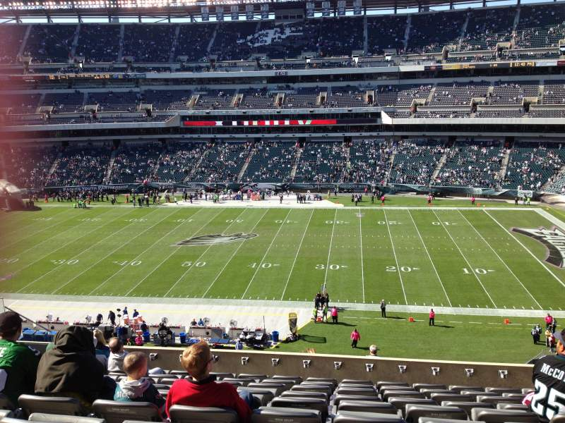 Seating view for Lincoln Financial Field Section C23 Row 15 Seat 15