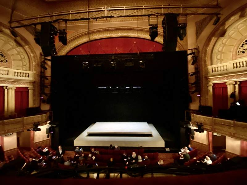 Seating view for Ethel Barrymore Theatre Section Front Mezzanine C Row A Seat 110