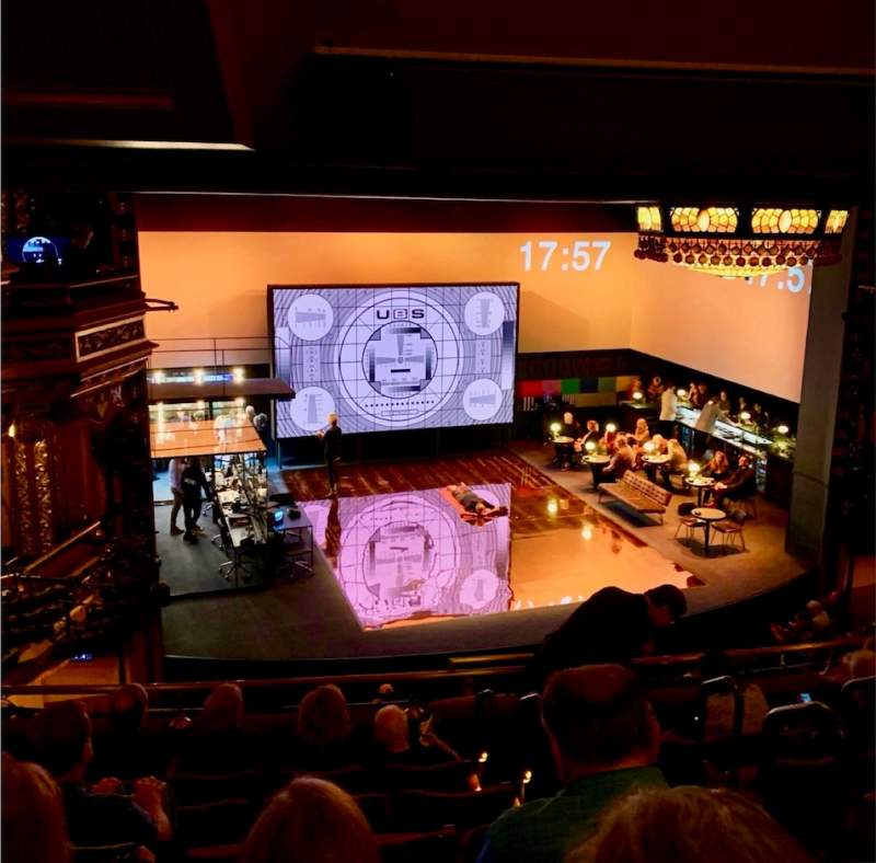 Seating view for Belasco Theatre Section Mezzanine L Row G Seat 8