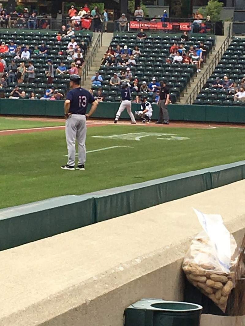 Seating view for Huntington Park Section 21 Row 1 Seat 1