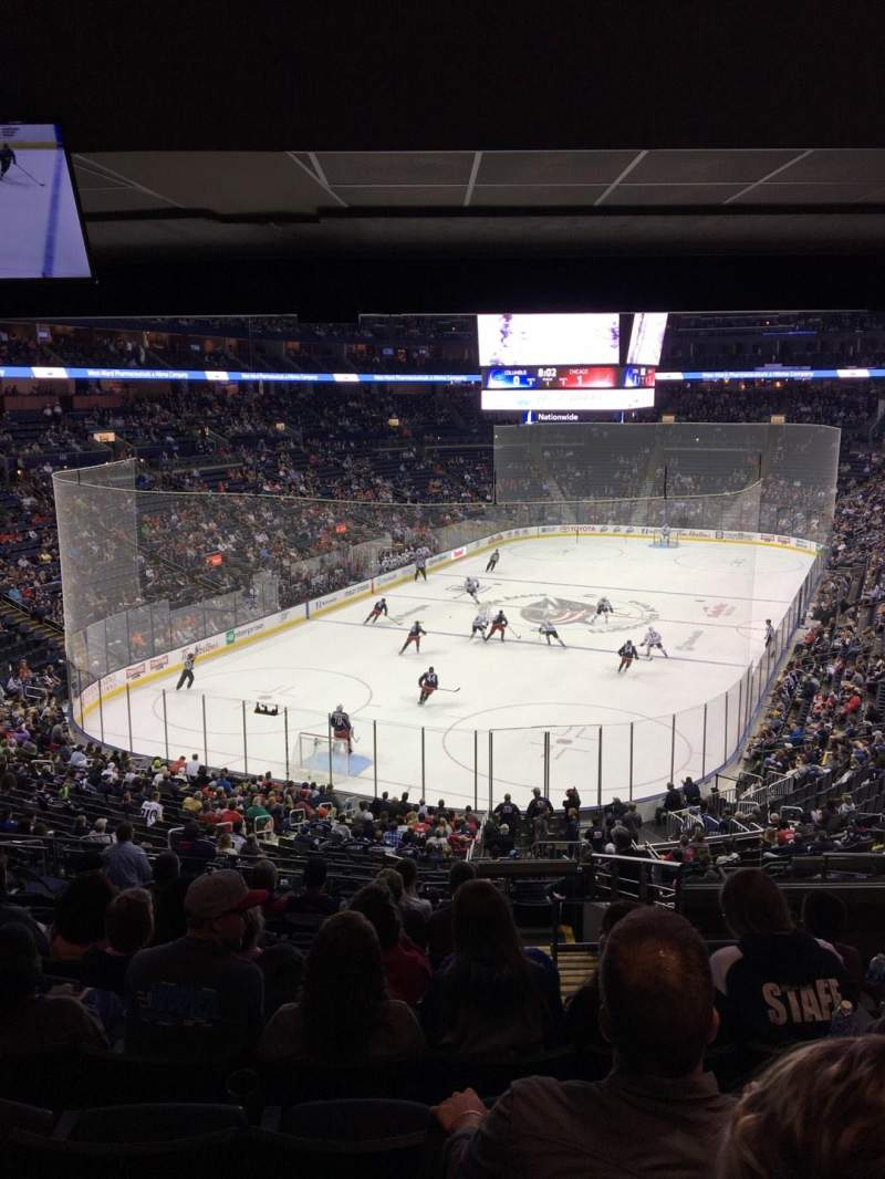 Nationwide Arena, section: 119, row: NN, seat: 6