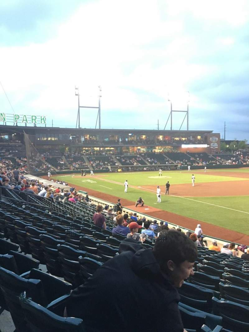 Huntington Park, section: 3, row: 14, seat: 2