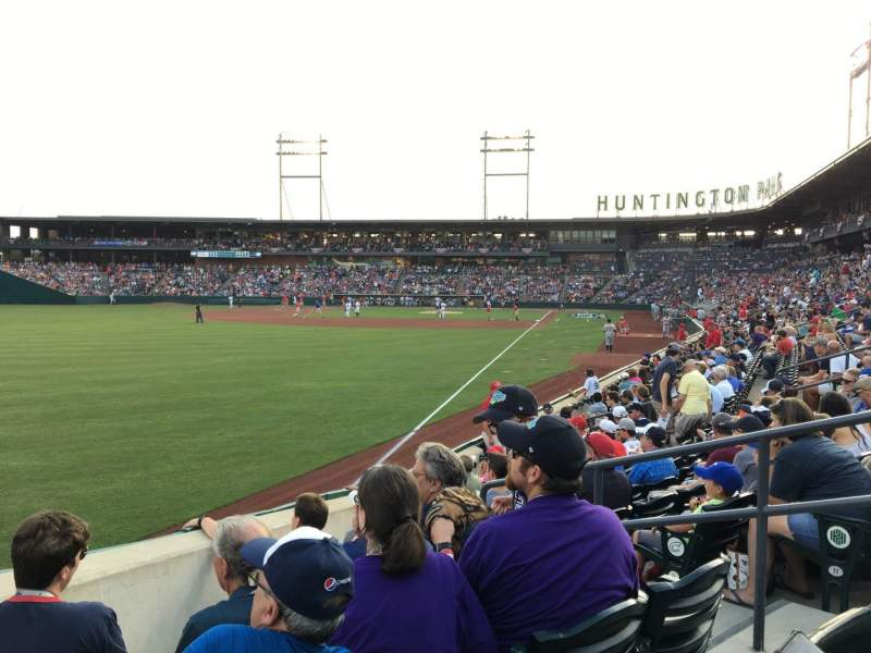 Huntington Park, section: 25, row: 9, seat: 5