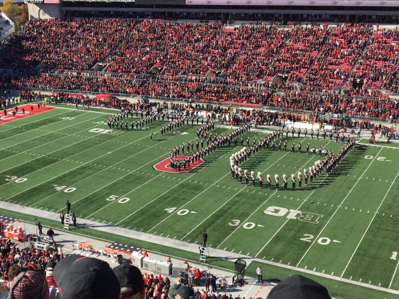 Seating view for Ohio Stadium Section 16C Row 10 Seat 25