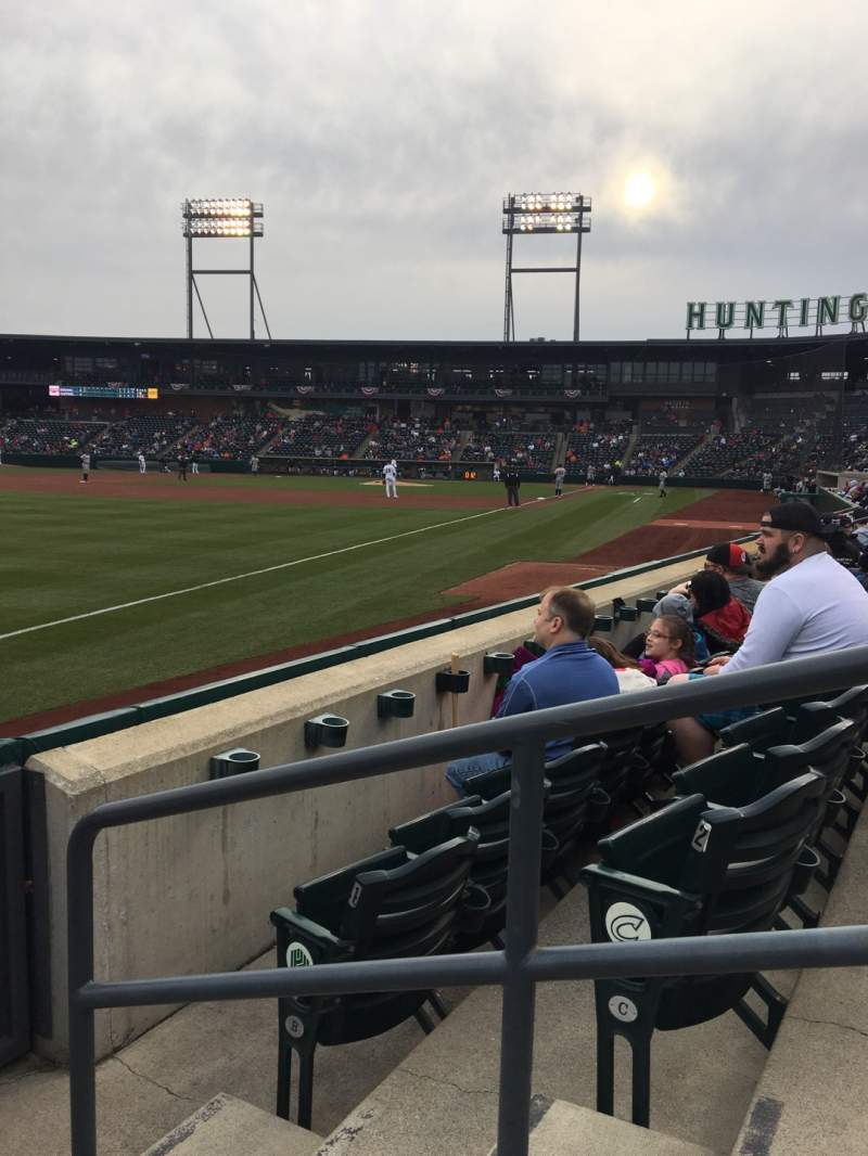 Seating view for Huntington Park Section 23 Row 3 Seat 2
