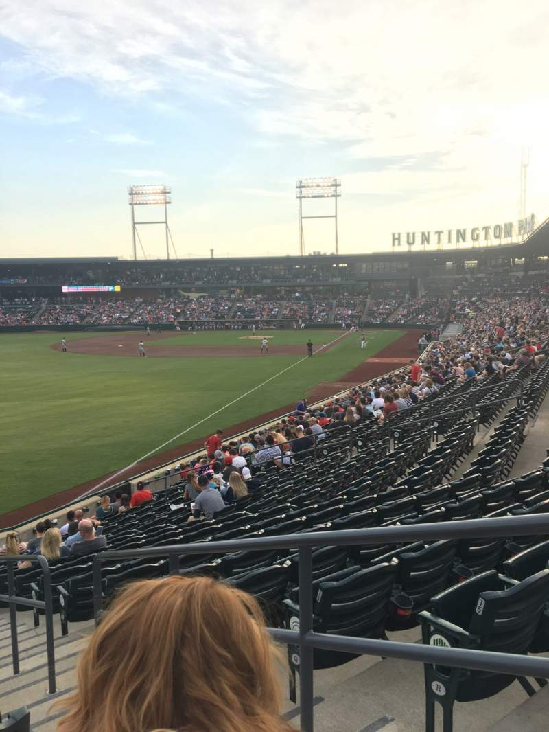 Seating view for Huntington Park Section 25 Row 17 Seat 2