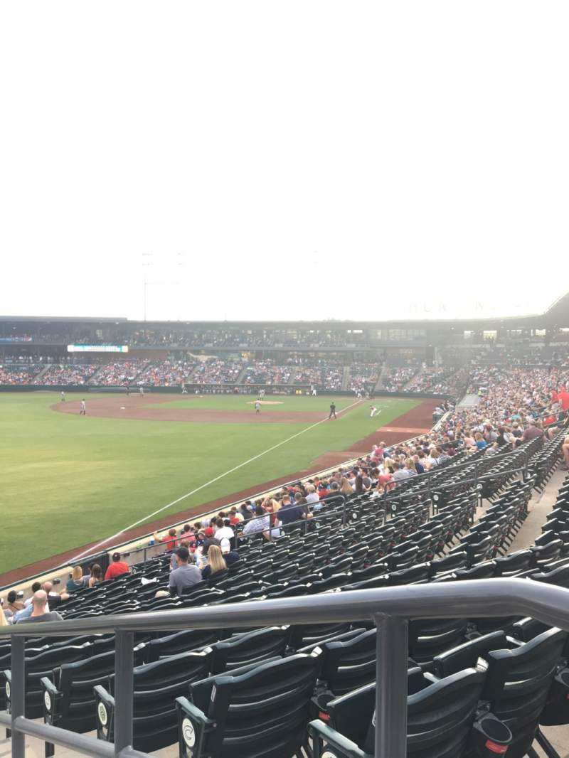Seating view for Huntington Park Section 25 Row 17 Seat 1