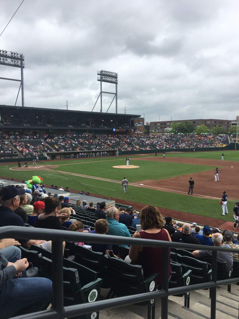 Seating view for Huntington Park Section 4 Row 17 Seat 18