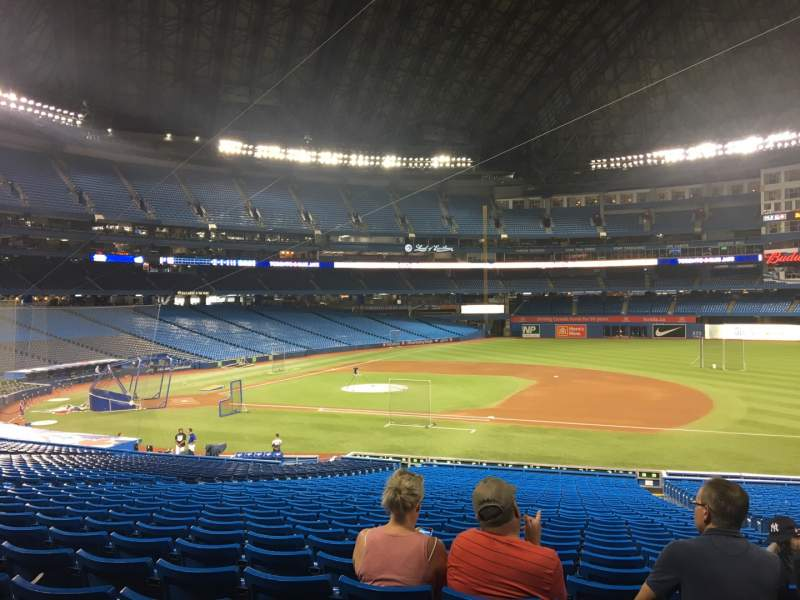 Seating view for Rogers Centre Section 116L Row 39 Seat 105