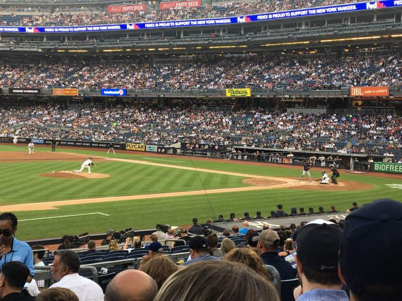 Seating view for Yankee Stadium Section 126 Row 10 Seat 5