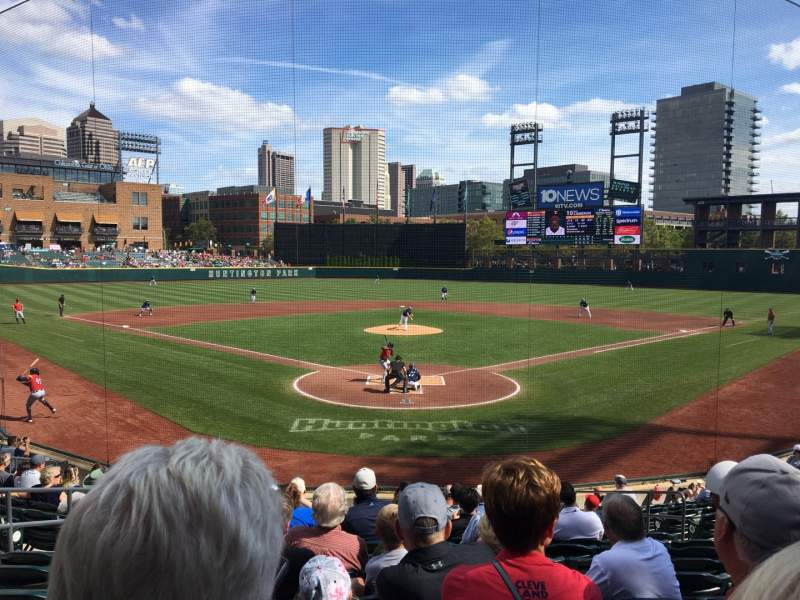 Seating view for Huntington Park Section 12 Row 15 Seat 8