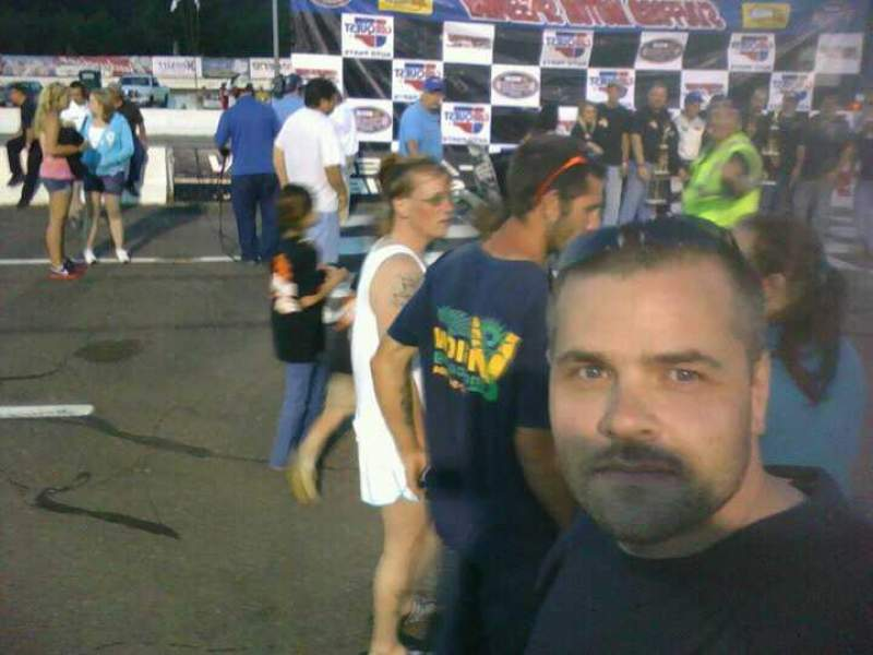 Seating view for Stafford Motor Speedway