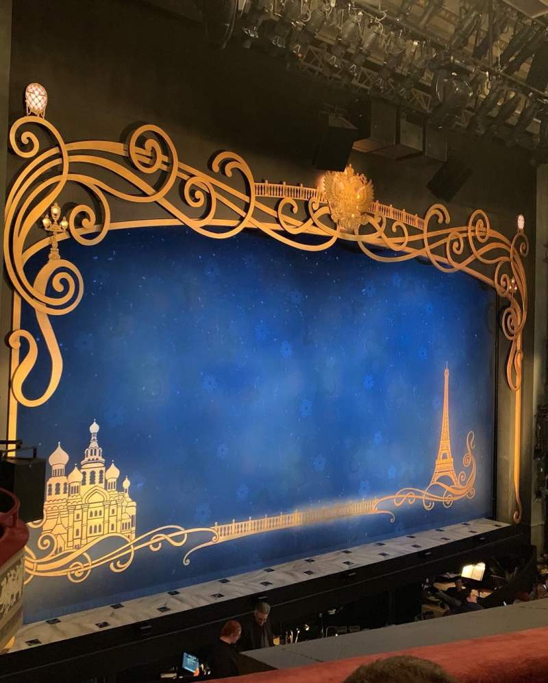 Seating view for Broadhurst Theatre Section Mezzanine L Row B Seat 3