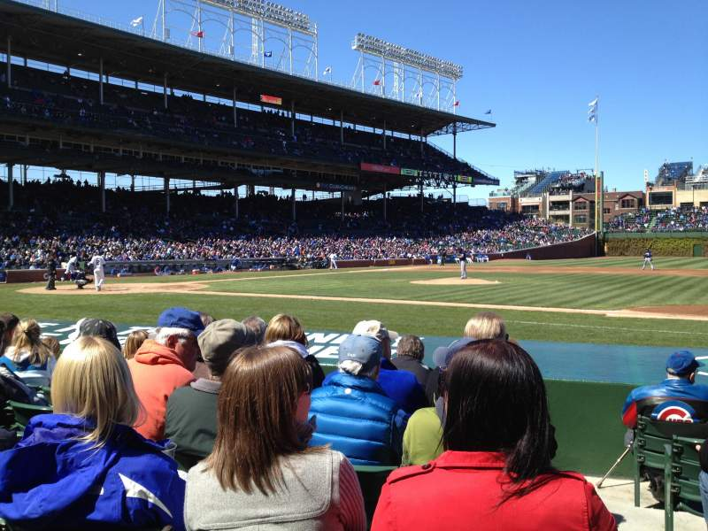 Seating view for Wrigley Field Section 31 Row 7 Seat 101