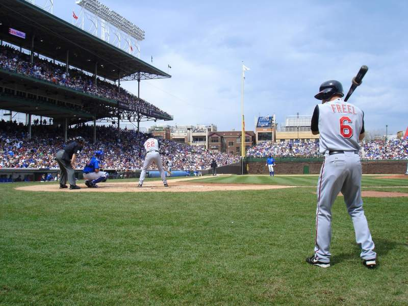 Wrigley Field, section: 26, row: A, seat: 101