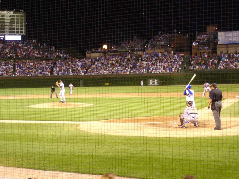 Seating view for Wrigley Field Section 17 Row 2 Seat 4