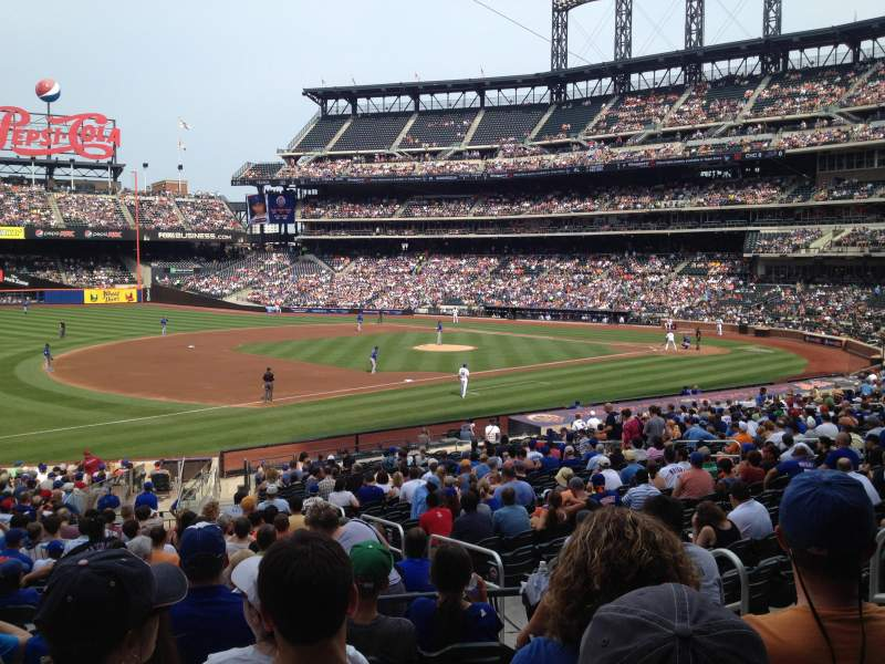 Seating view for Citi Field Section 125 Row 27 Seat 6